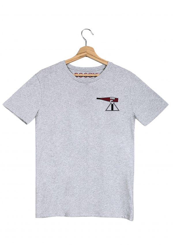 alsace alsacienne zink rouge t-shirt gris