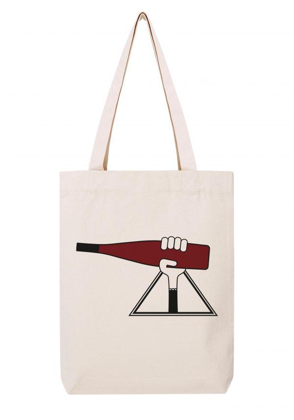 alsace femme sac coton tote bag bio bocavi du vin dans ta penderie bouteilles viticole vigneron wine
