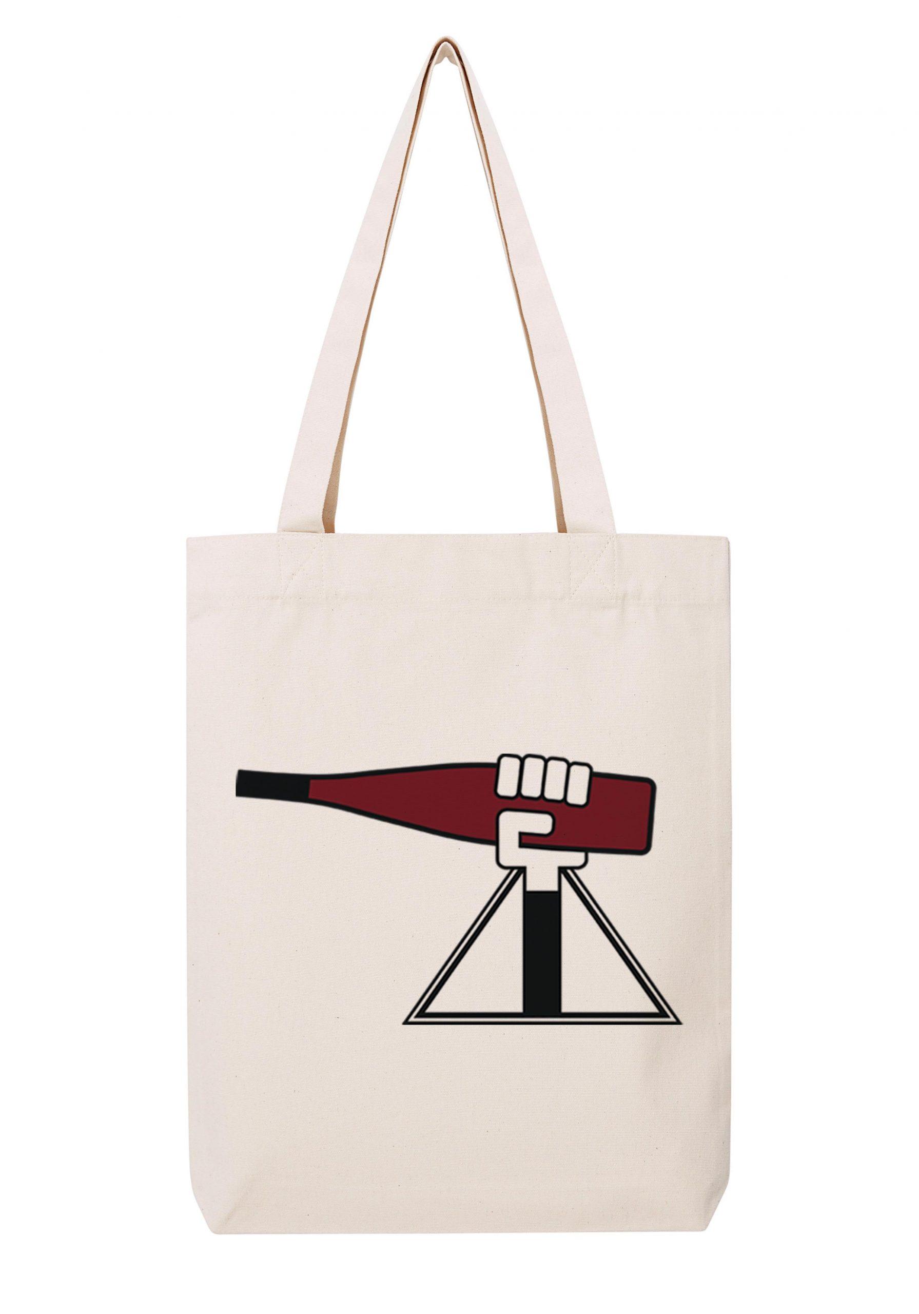 alsace homme rouge sac coton tote bag bio bocavi du vin dans ta penderie bouteilles viticole vigneron wine