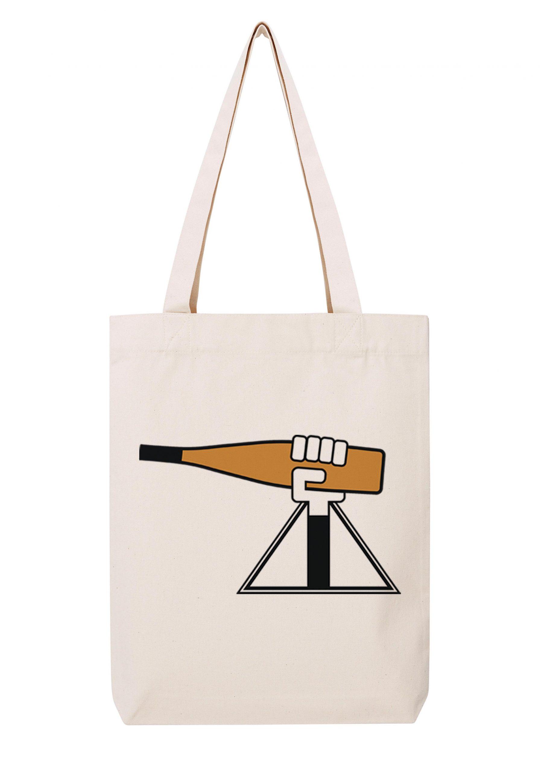 alsacienne homme blanc sac coton tote bag bio bocavi du vin dans ta penderie bouteilles viticole vigneron wine