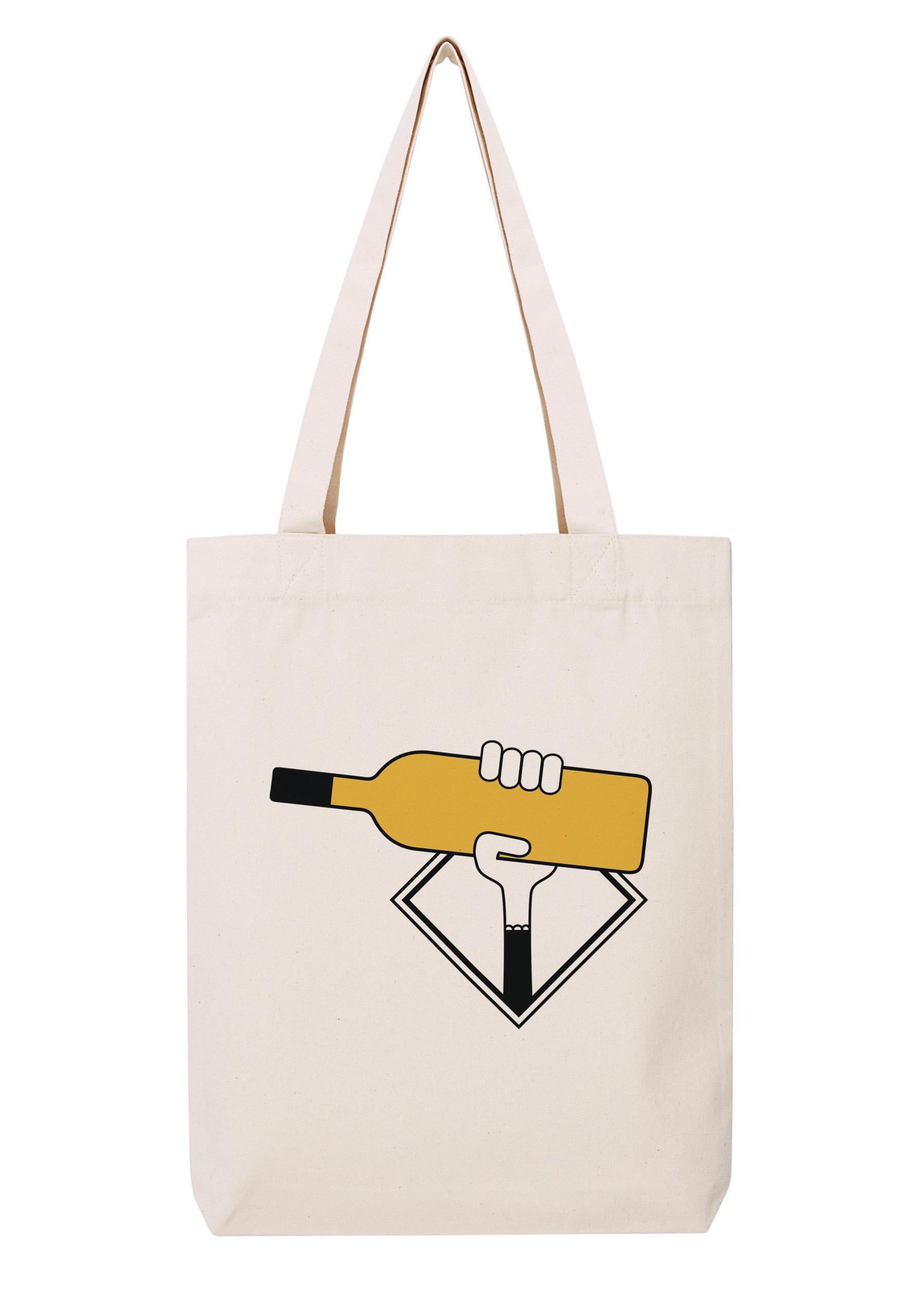 bordeaux blanc sauterne femme sac coton tote bag bio bocavi du vin dans ta penderie bouteilles viticole vigneron wine
