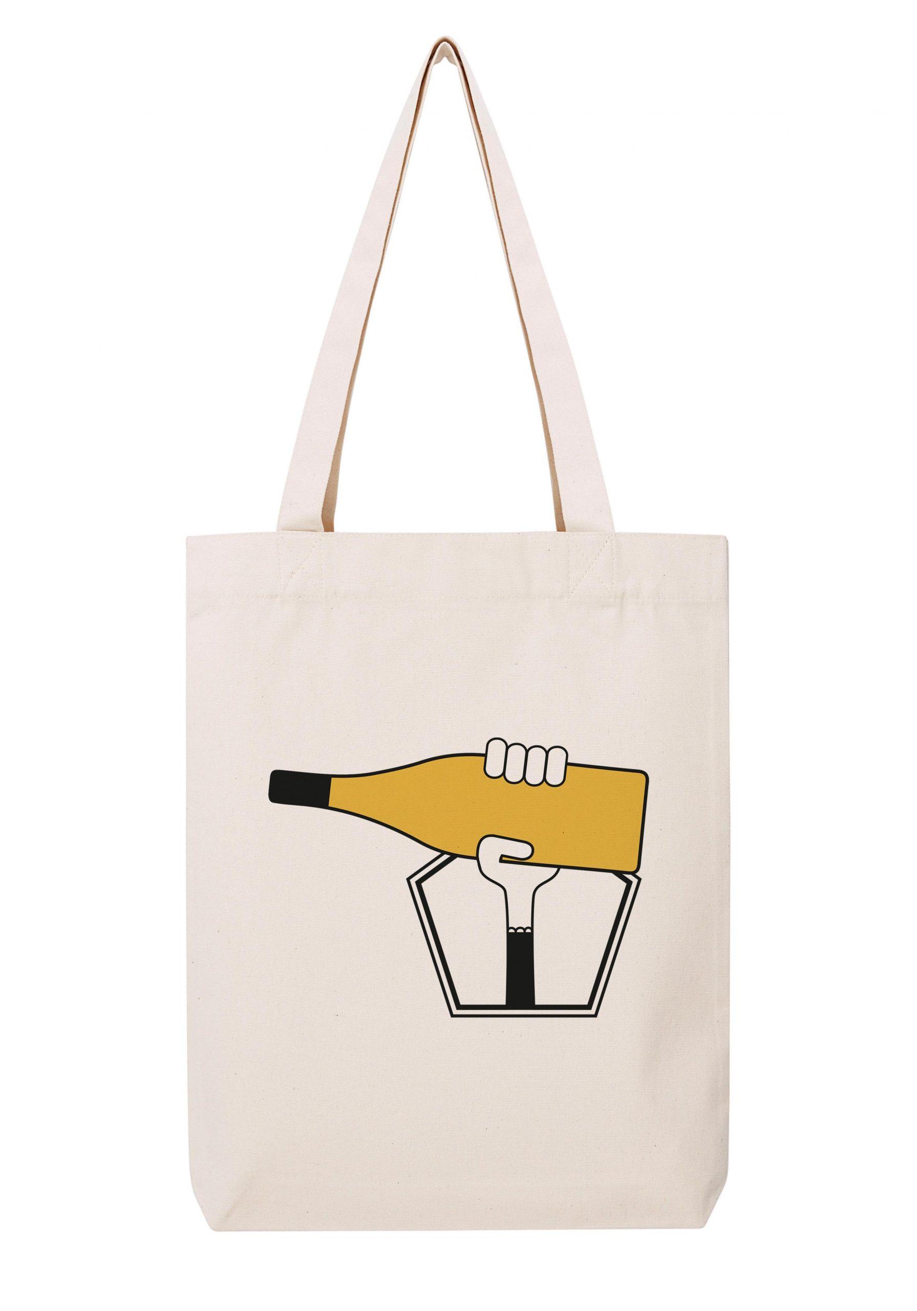 bourgogne chablis femme sac coton tote bag bio bocavi du vin dans ta penderie bouteilles viticole vigneron wine