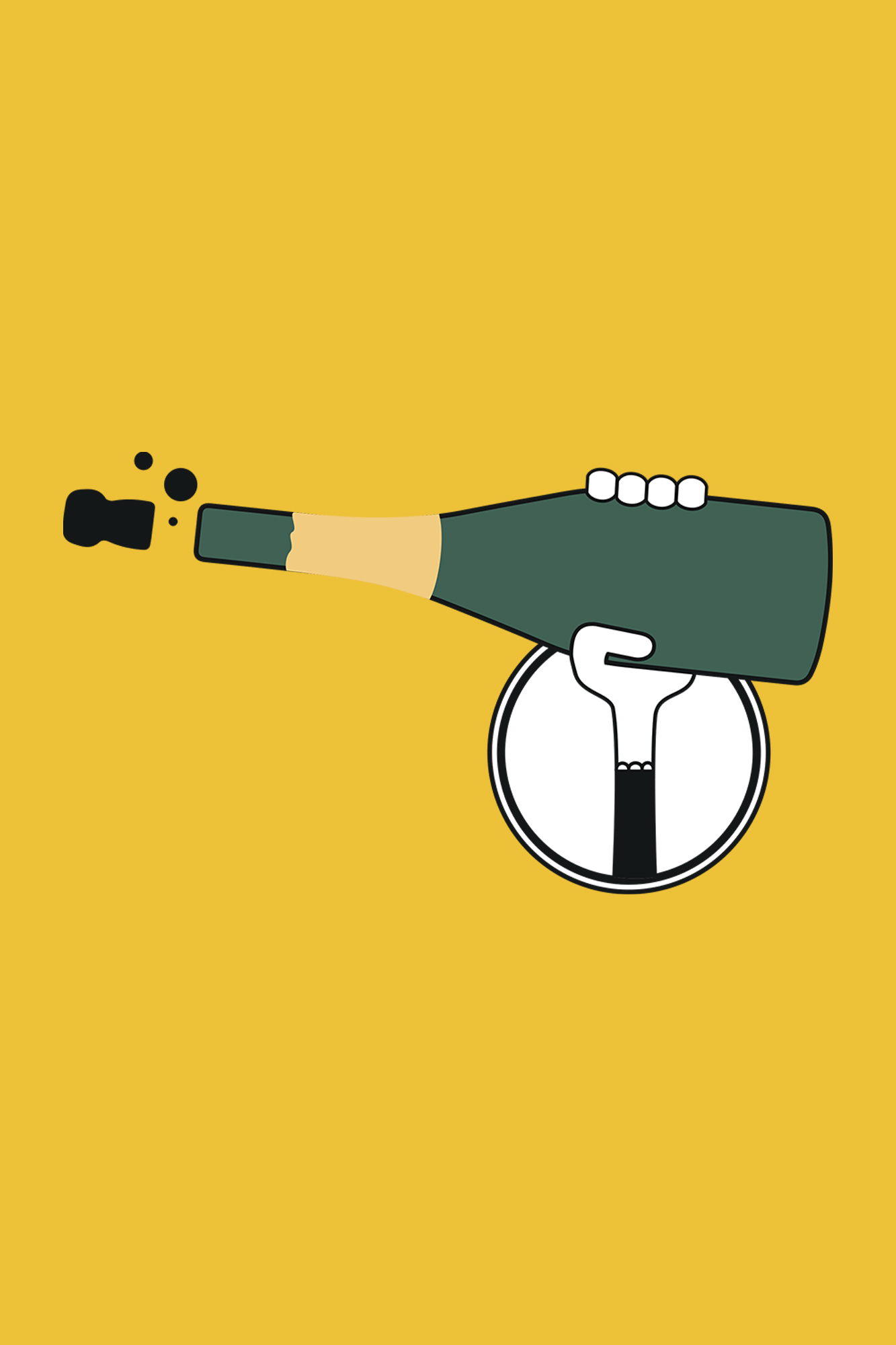 bouteille champagne femme bocavi