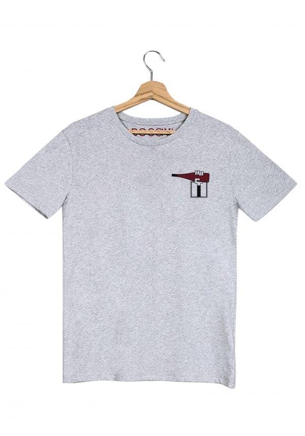 ligérienne val de loire chinon rouge t-shirt gris homme bocavi du vin dans ta penderie bouteilles viticole vigneron wine