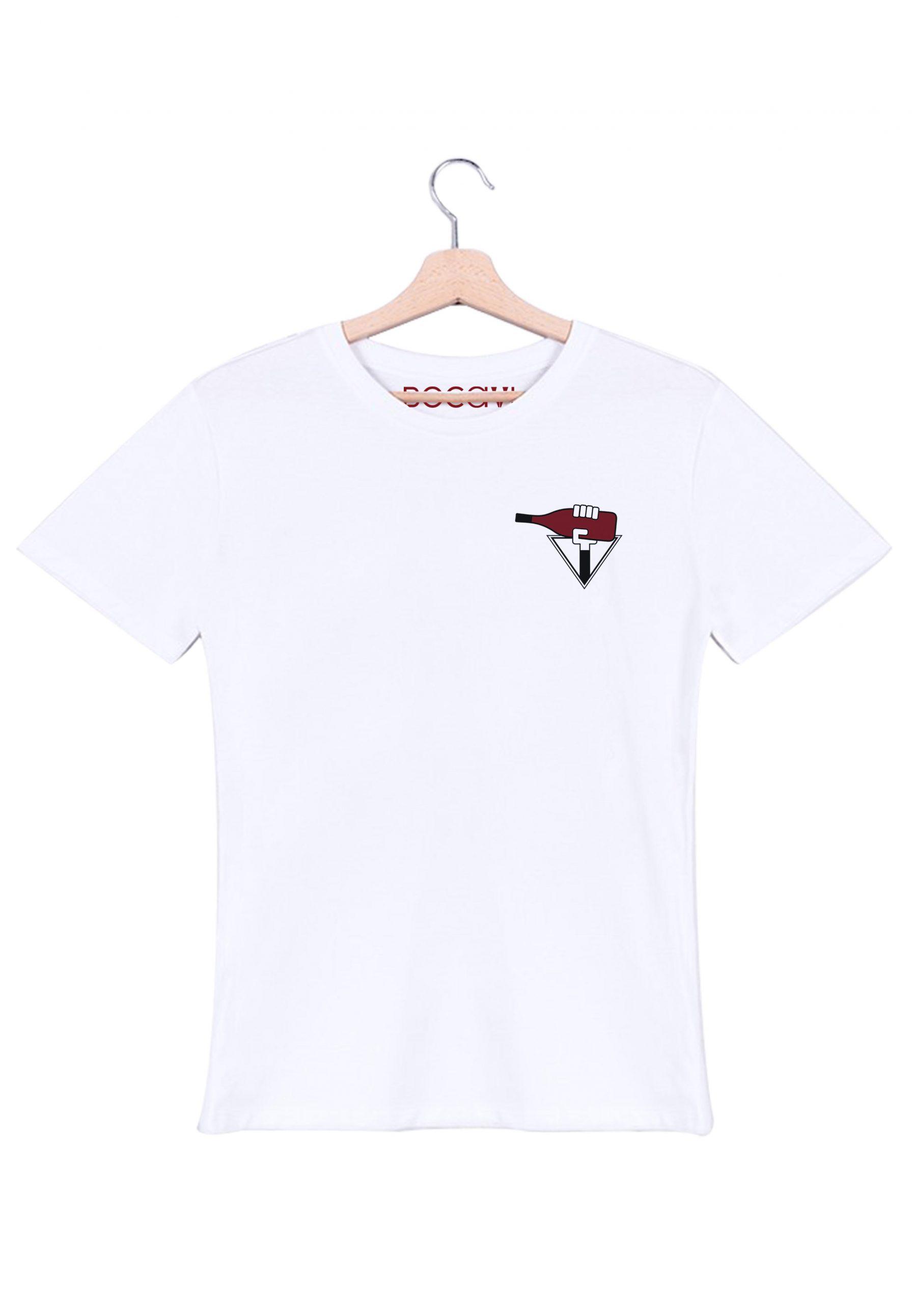 rhodanienne cote du rhone lirac rouge t-shirt blanc homme bocavi du vin dans ta penderie bouteilles viticole vigneron wine