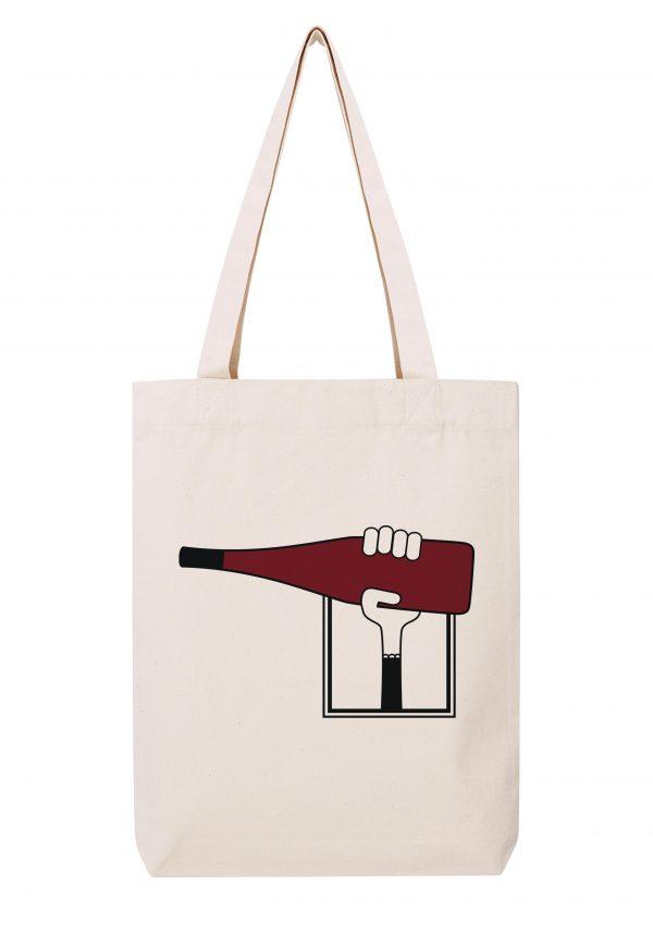 val de loire femme sac coton tote bag bio bocavi du vin dans ta penderie bouteilles viticole vigneron wine