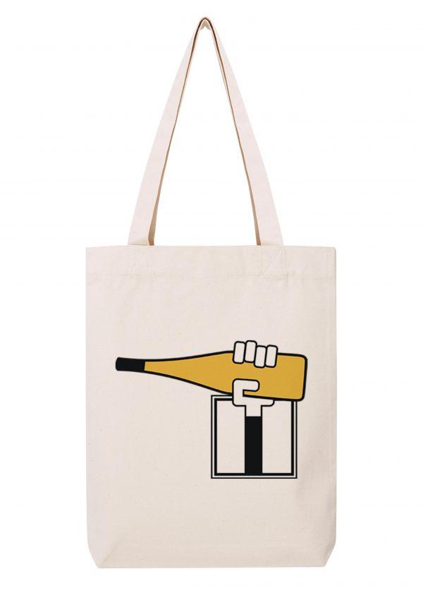 val de loire homme blanc sac coton tote bag bio bocavi du vin dans ta penderie bouteilles viticole vigneron wine