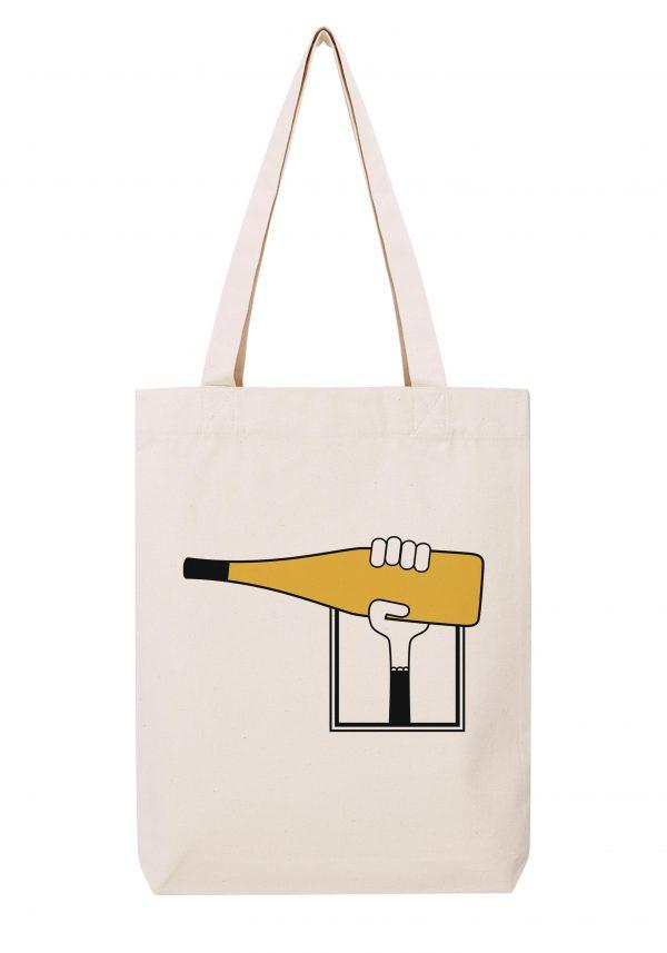 val de loire vouvray femme sac coton tote bag bio bocavi du vin dans ta penderie bouteilles viticole vigneron wine